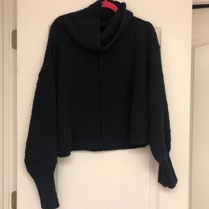 NWOT Free People Cowl Neck Sweater